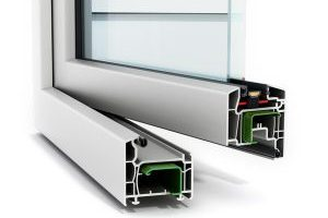 Aluminum Extrusion Window Frame